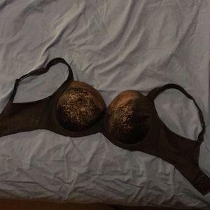Soma 32DD black bra